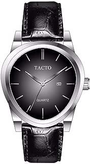 Luxury Men;s Watches Trendy Unique Classic Fashion Wristwatch Sports Quartz Watch Genuine Leather 30M Waterproof