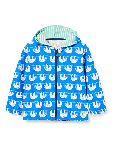 loud + proud Jungen Outdoor Jacket Organic Cotton Jacke, Blau (Cobalt Cob), (Herstellergröße: 62/68)