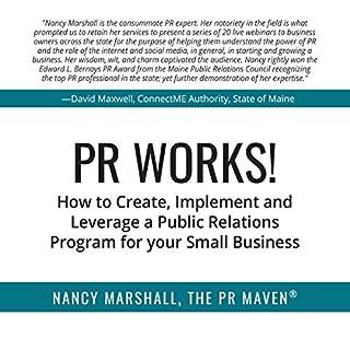 PR Works! audiobook cover art