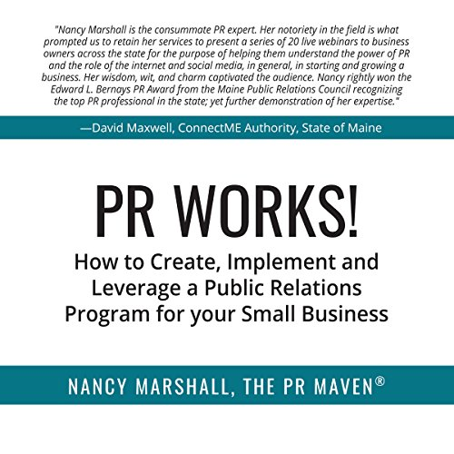 PR Works! audiobook cover art