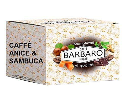KAFFEE ANIS & SAMBUCA BARBARO - Box 20 PADS ESE44 7.5g