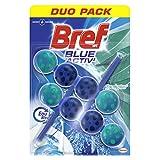 Bref WC Blue Activ' Eucalyptus – 2 Blocs WC (2x50g) – Produit Nettoyant WC – Détartrant toilettes