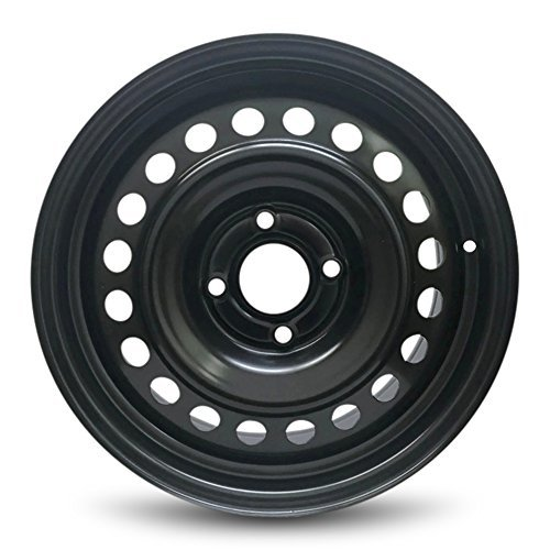 Road Ready Car Wheel For 2007-2012 Nissan Sentra 16 Inch 4 Lug Steel Rim Fits R16 Tire - Exact OEM Replacement - Full-Size Spare