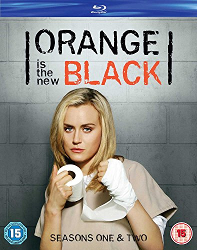 Orange Is The New Black Seasons 1& 2 [Edizione: Regno Unito] [Reino Unido] [Blu-ray]