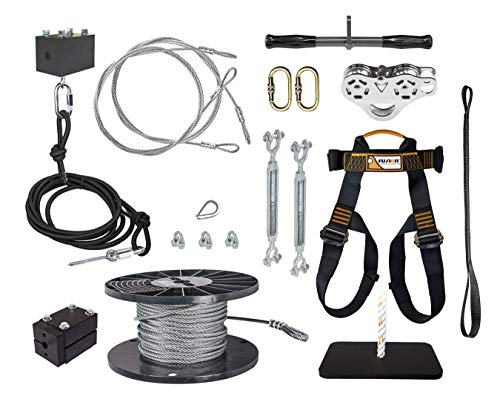 ZLP Manufacturing ZUTK200 Ultimate Torpedo Zip Line Kit w/ 200' 5/16' Cable