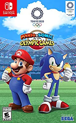 Mario & Sonic Olympic Games Tokyo 2020 [Twister Parent]