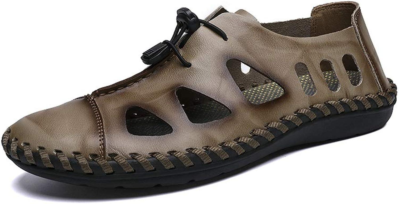 Men's Sandals Fresh Breathable Elastic Straps Flexible Outdoor Fashion Casual shoes Men's Sandals Cricket shoes