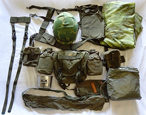 Find Discount Moore Militaria US Army Complete Field Gear Package EXC