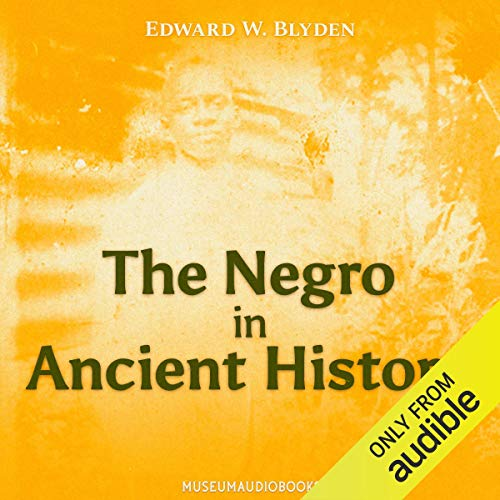 『The Negro in Ancient History』のカバーアート