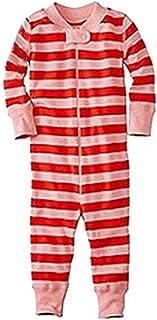 LvRao Casual Family Matching Christmas Pajama Set Soft Striped PJs Set Sleepwear Nightwear Romper