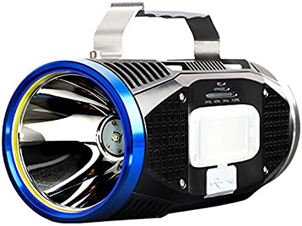 TYXZLF LED-Blendung superheller tragbarer Suchscheinwerfer USB, der Multifunktionsfischen-Taschenlampe auflädt B07Q64NKSV | Schönes Design