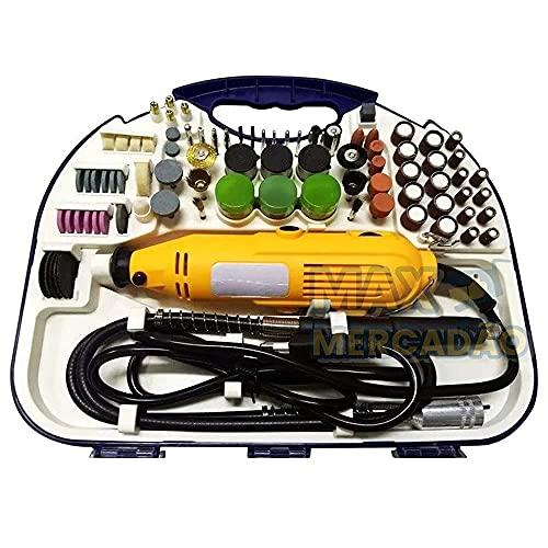 Micro Mini Retifica Profissional 163pçs 300w NK211 (220 volts)