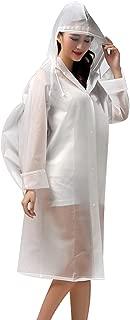 NoyoKere Unisex Hooded Waterproof Rain Coat Button Closer Outdoor Windbreak Colorful Ripple Rain Reusable Jacket Poncho