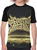 Biilyy Uomo Manica Corto Babymetal Metal Resistance Uomo Baseball T Shirt Morbido Maniche Corte Tees Regalo