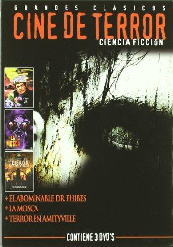 Cine de terror ciencia ficción [DVD]