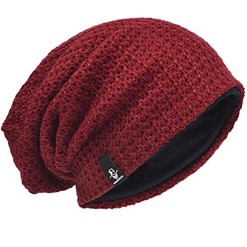 Hombre Gorro de Punto Slouch Beanie Knit Invierno...