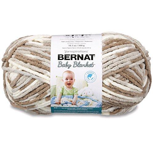 Bernat Baby Blanket Big Ball Little Sandcastles