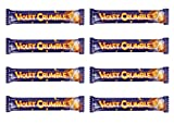 Violet Crumble Shattering Chocolate Coated Honeycomb, 8 Count