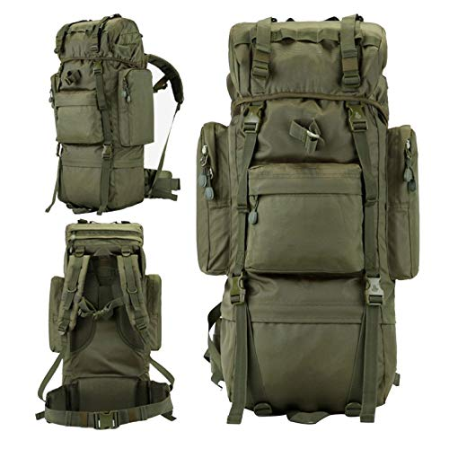 70L/100L Hiking Backpack Mountaineering Outdoor Built-in Frame Climbing Bag
