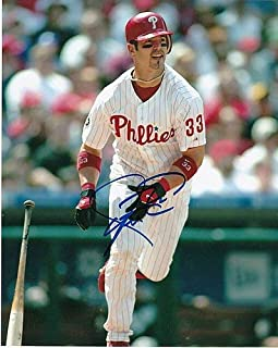 Aaron Rowand Philadelphia Phillies Action Autographed Signed 8x10 - Certified Signature