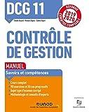 DCG 11 Contrôle de gestion - Manuel - Réforme 2019-2020: Réforme Expertise comptable 2019-2020 (2019-2020)
