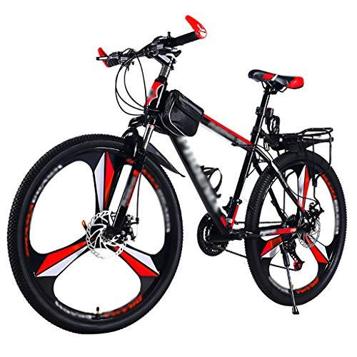 LWZ Bicicleta de montaña de 26 Pulgadas MTB 24 velocidades Cambio de...