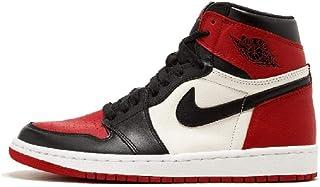 Air Jordan 1 AJ1 High-Top Basketball Shoes 'Bred Toe' 555088-610