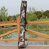 Xiaochou@sl Zufällige Farbmusterlieferung, Desert Camouflage Double Layer Angelrutenpaket...