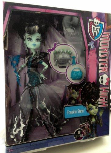 Niñas/Niños Monster High Ghouls Rule muñeca de Frankie Stein y accesorios Nueva...