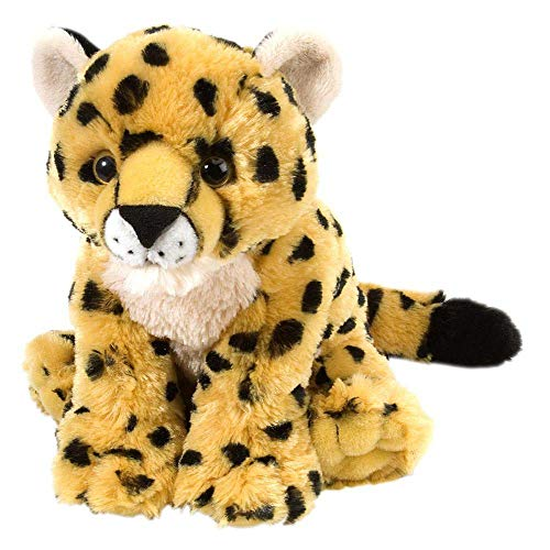 Wild Republic Cheetah Baby Plush, Stuffed Animal, Plush Toy, Gifts for Kids, Cuddlekins 8 Inches