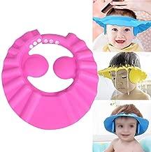 Womdee Baby Baden Shampoo Dusche Schutzhut, Soft Hat Einstellbare Schirmmütze Duschhaube Hut Waschen Haar Schild für Kleinkind Baby, um das Wasser aus ihren Augen Gesicht zu halten