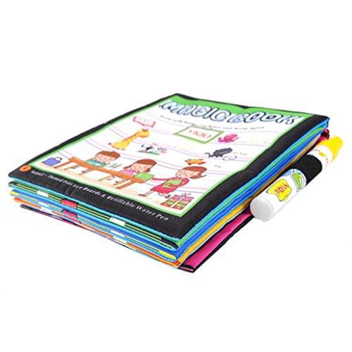 Juguete del bebé, RETUROM Nuevo dibujo de agua de dibujo para colorear libro para pintar los animales para niños niños juguete