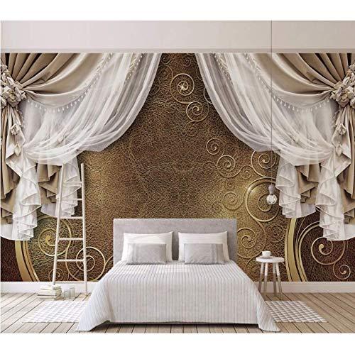 Hbbhbb reliëf lederen textuur gordijnen behang muurschildering slaapkamer bank achtergrond 3D behang decoratie 200x140cm