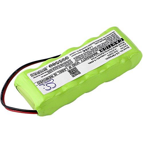 CS-FBP600SL Batería 1100mAh Compatible con [FLUKE] Analyzers Memobox, Memobox sustituye 5x2-3A600