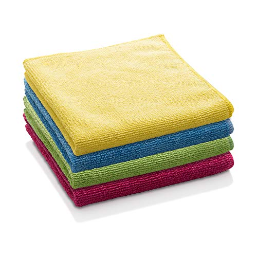 E-Cloth General Purpose Microfiber Cleaning Cloth, Assorted Colors, 4 Count Minnesota