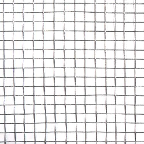 工作用ネット 平織金網 亜鉛引 10160147 線径0.7mm 450幅x1m