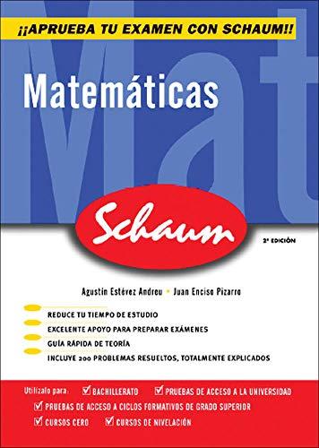 CUTR MATEMATICAS SCHAUM SELECTIVIDAD - CURSO CERO (CASTELLANO) - 9788448198534