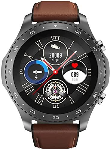 Bluetooth Smartwatch 1.3 pulgadas pantalla táctil deporte inteligente reloj de pulsera monitor de sueño actividad fitness Tracker podómetro SMS notificación de llamadas_negro