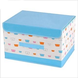 AQGELSNX Tissu Non tissé Enduit Carton Pliable Boîte de Rangement Vêtements gainés Boîte de Rangement Boîte de Rangement é...