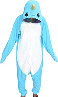 WOTOGOLD Animal Cosplay Costume Narwhal Adult Children Pajamas f46771c65