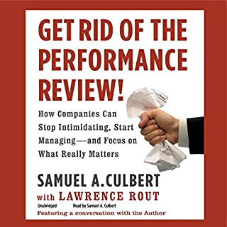 Get Rid of the Performance Review! audiobook cover art
