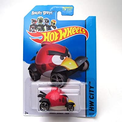 Hot Wheels 2013 Angry Birds RED HW CITY 82/250