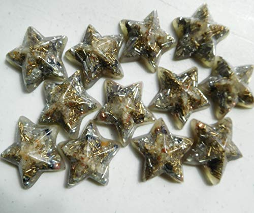 Buy 25 Five Pointed Stars Crystal Orgone Generator Energy Accumulator 7.83/432/528Hz/Advance Harmoni...