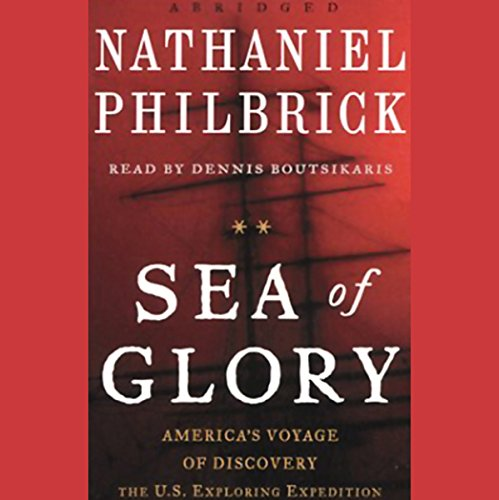 Sea of Glory audiobook cover art