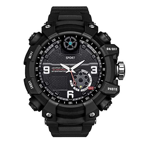 Reloj inteligente deportivo X12 WiFi, reloj de pulsera con cámara P2P, reloj impermeable IP67 para hombres, grabadora de video de 32GB 64GB 128GB, reloj deportivo (280x21mm / 11.02x0.83in)