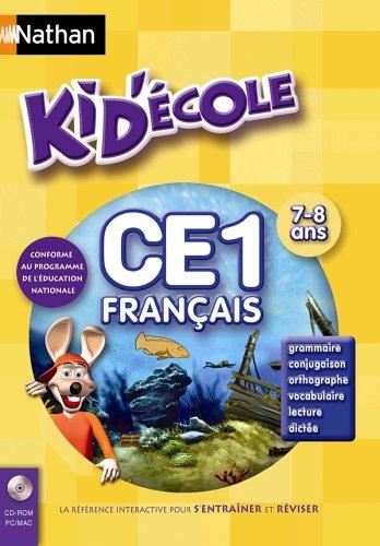 Kid Ecole CE1 Français : Grammaire, conjugaison, orthographe, vocabulaire, lecture, dictée