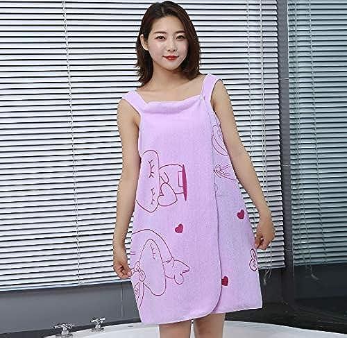 JRM s Microfiber Soft Bath Towel Fashion Women Wearable Quick Dry Magic Bathing Beach Spa Bathrobes Wash Clothing Beach Dresses Purple