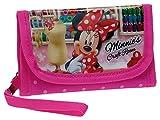 Disney Brieftasche Minnie Münzbörse, 0.12 Liter, Rosa