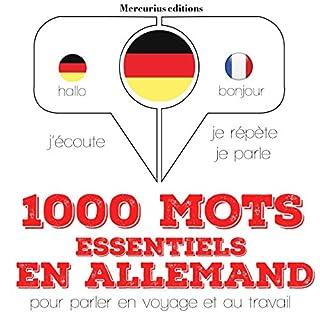 Couverture de 1000 mots essentiels en allemand