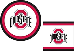 Ohio State Buckeyes Party Supplies 81 pieces